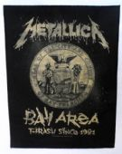Metallica - 'Bay Area' Giant Backpatch